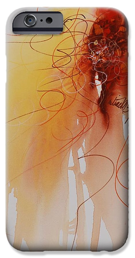 Creativity IPhone 6s Case featuring the painting Creativity by Nadine Rippelmeyer