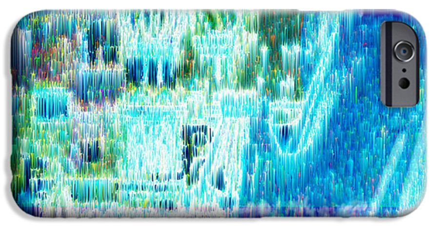 Northern Lights IPhone 6s Case featuring the digital art Crystal City by Seth Weaver