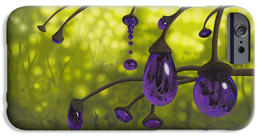 Tree IPhone 6s Case featuring the painting Cyphomandra Vitra by Patricia Van Lubeck
