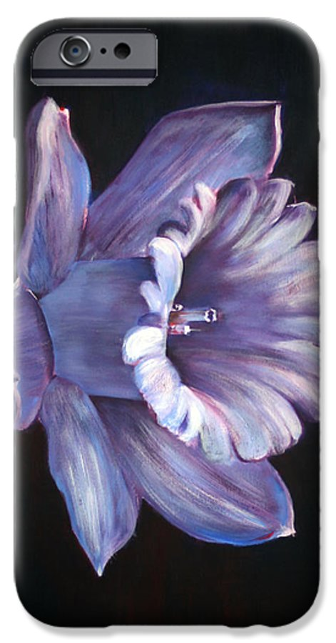 Flower IPhone 6s Case featuring the painting Daffodil by Fiona Jack