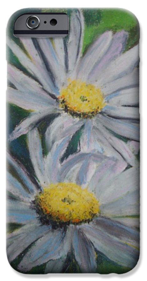 Daisies IPhone 6s Case featuring the painting Daisies by Melinda Etzold