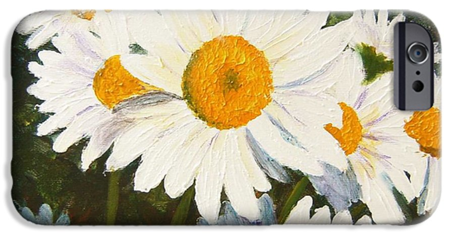 Daisy IPhone 6s Case featuring the painting Daisy by Tami Booher