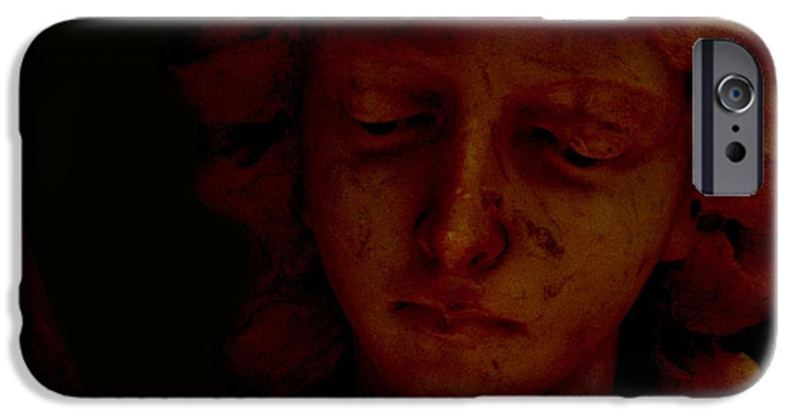 Angel IPhone 6s Case featuring the photograph Dark Angel by Ruben Flanagan