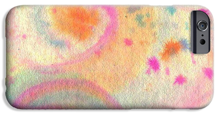 Watercolor IPhone 6s Case featuring the painting Dayscape by Chandelle Hazen
