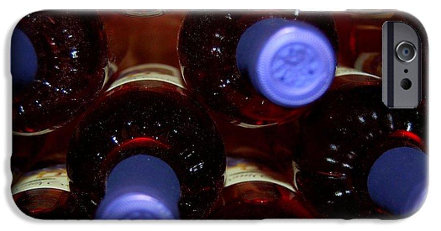 Wine IPhone 6s Case featuring the photograph De-vine Wine by Debbi Granruth