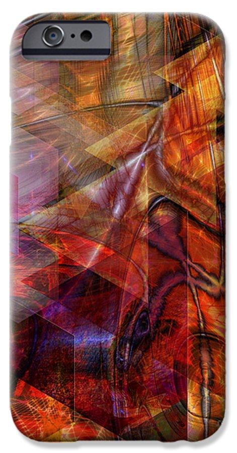 Deguello Sunrise IPhone 6s Case featuring the digital art Deguello Sunrise by John Beck