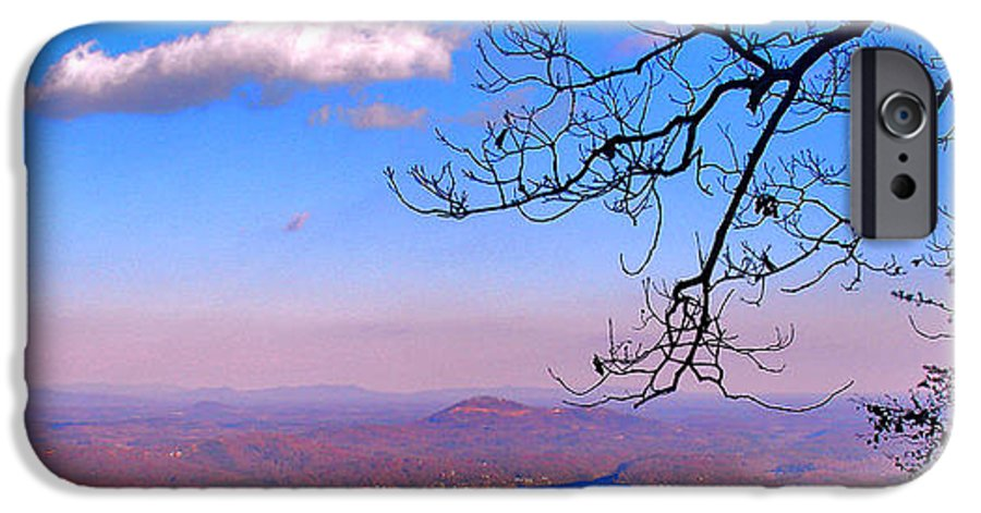 Landscape IPhone 6s Case featuring the photograph Detail From Reaching For A Cloud by Steve Karol