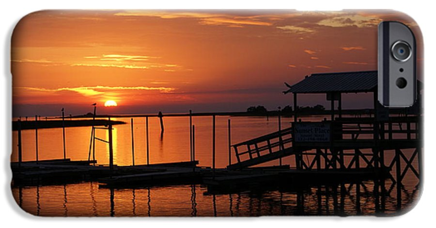 Dock IPhone 6s Case featuring the photograph Dock Of The Bay by Debbie May