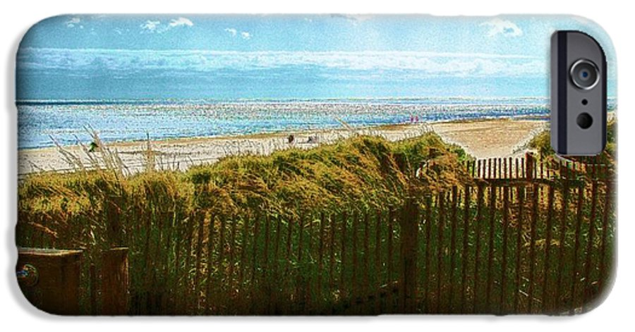 Rehoboth Beach Photography IPhone 6s Case featuring the photograph Down To The Beach by Jeffrey Todd Moore