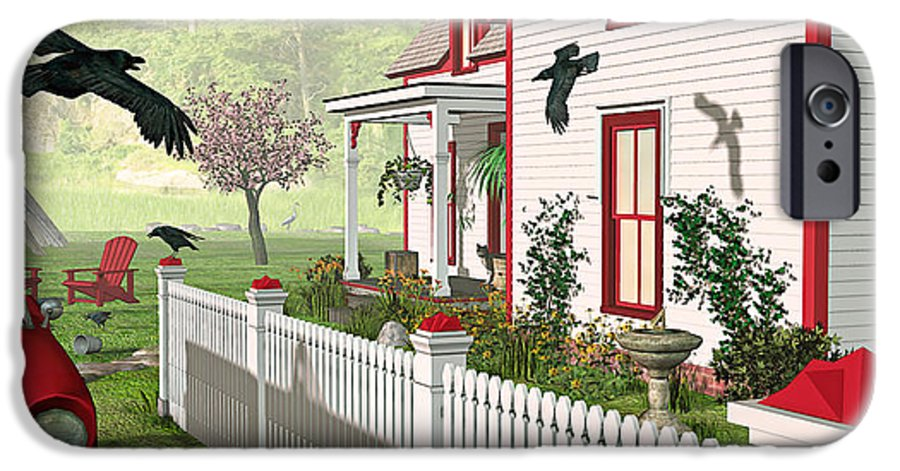 Victorian House IPhone 6s Case featuring the photograph Downeast Morning by Peter J Sucy