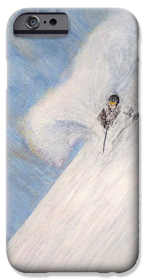 Landscape IPhone 6s Case featuring the painting Dreamsareal by Michael Cuozzo