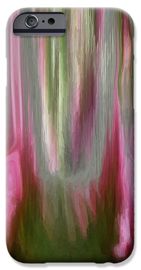 Abstract Art IPhone 6s Case featuring the digital art Entrance by Linda Sannuti