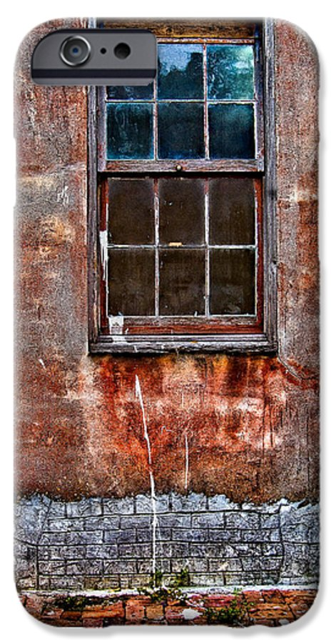 Window IPhone 6s Case featuring the photograph Faded Over Time by Christopher Holmes