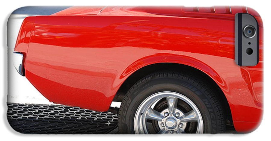 Ford IPhone 6s Case featuring the photograph Fastback Mustang by Rob Hans