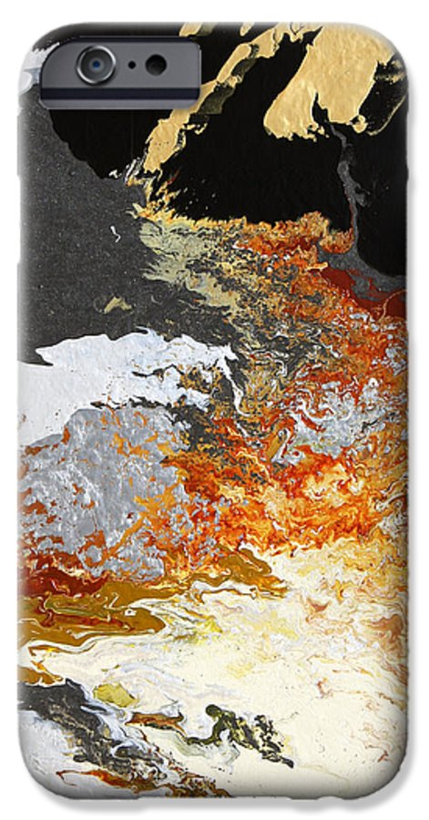 Fusionart IPhone 6s Case featuring the painting Fathom by Ralph White