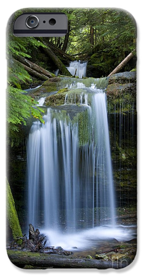 Waterfalls IPhone 6s Case featuring the photograph Fern Falls by Idaho Scenic Images Linda Lantzy