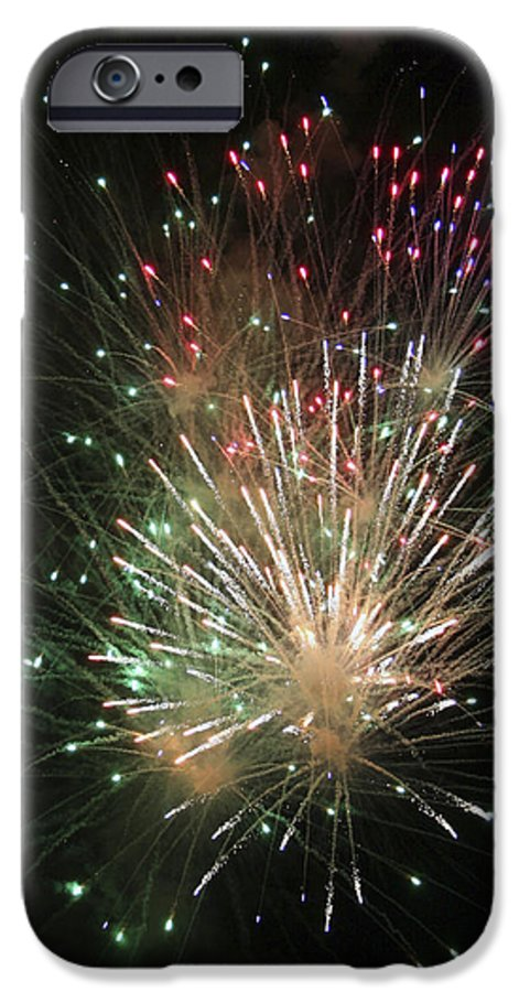 Fireworks IPhone 6s Case featuring the photograph Fireworks by Margie Wildblood