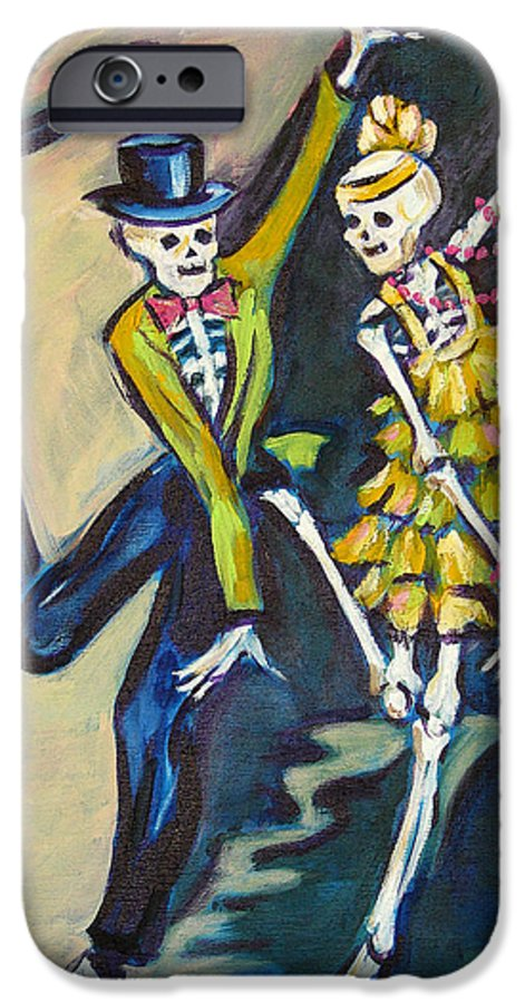Dance IPhone 6s Case featuring the painting Flappers by Sharon Sieben