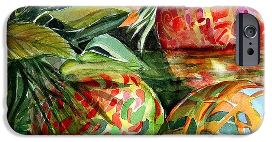 Float IPhone 6s Case featuring the painting Floating by Mindy Newman