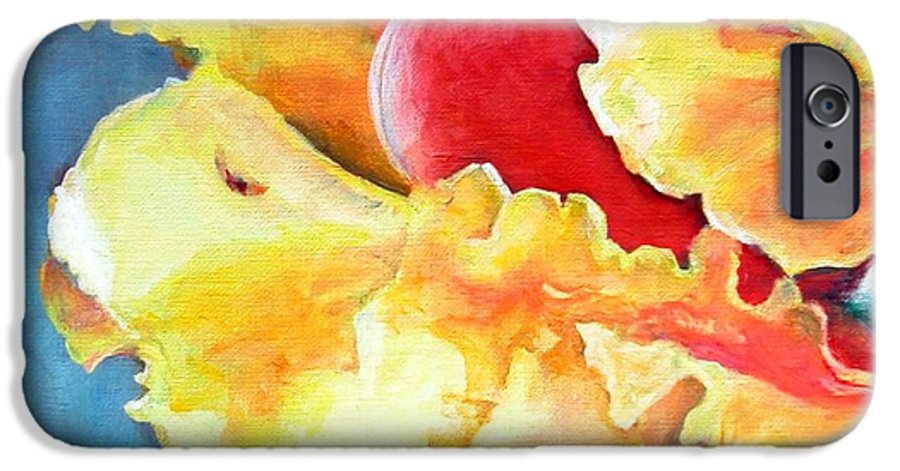Floral Painting IPhone 6s Case featuring the painting Floraison by Muriel Dolemieux