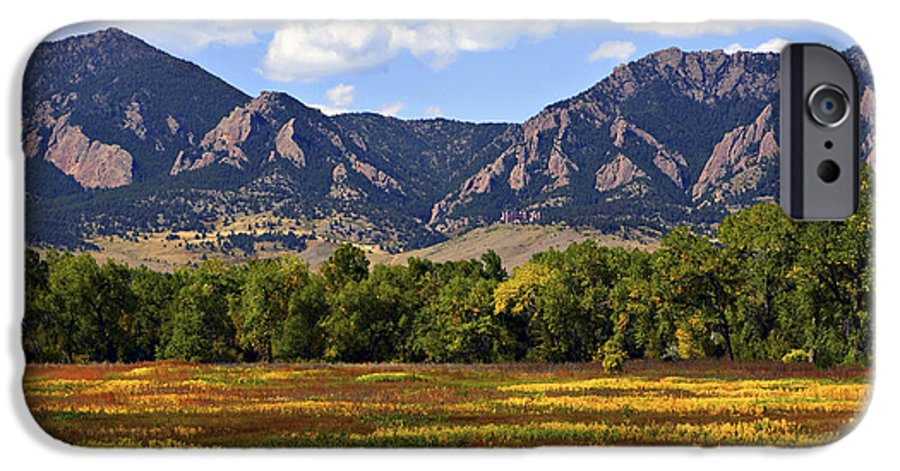 Fall IPhone 6s Case featuring the photograph Foothills Of Colorado by Marilyn Hunt