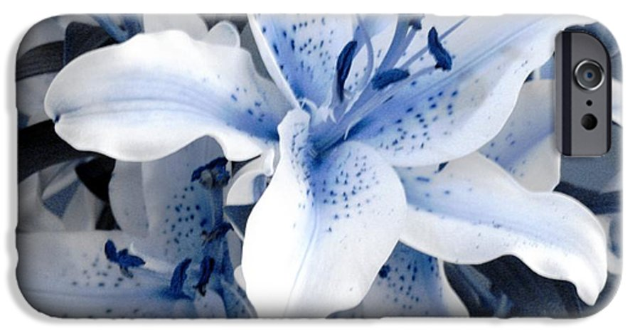Blue IPhone 6s Case featuring the photograph Freeze by Shelley Jones