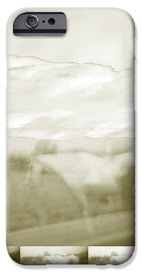 Colorado IPhone 6s Case featuring the digital art Ghost Horse Colorado by Ann Tracy