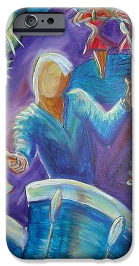 Jazz IPhone 6s Case featuring the painting Give Me A Beat by Regina Walsh