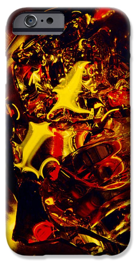 Abstract IPhone 6s Case featuring the photograph Glassman by David Rivas