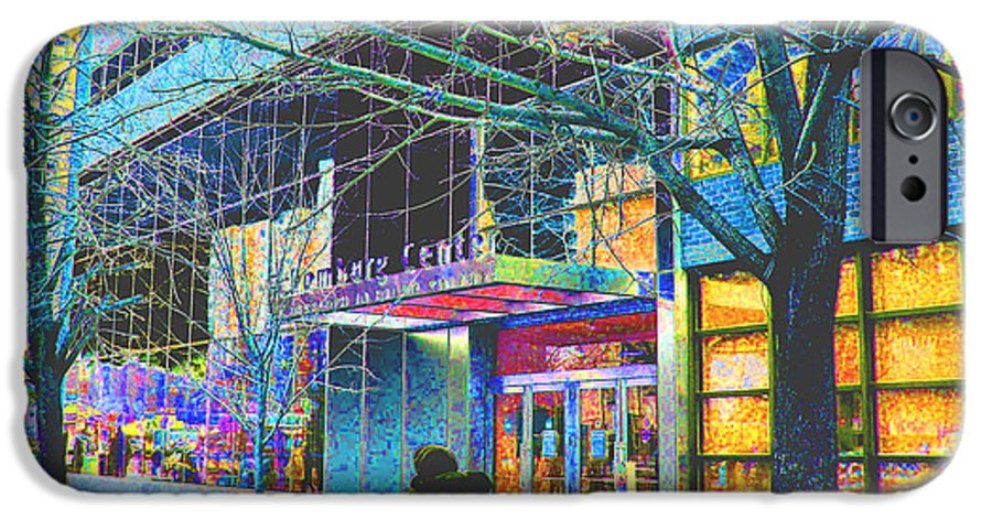 Harlem IPhone 6s Case featuring the photograph Harlem Street Scene by Steven Huszar