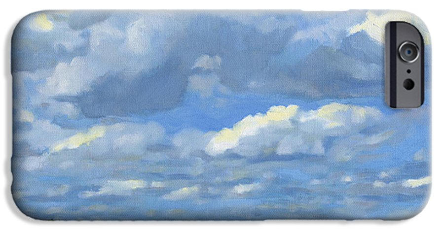 Landscape IPhone 6s Case featuring the painting High Summer by Bruce Morrison