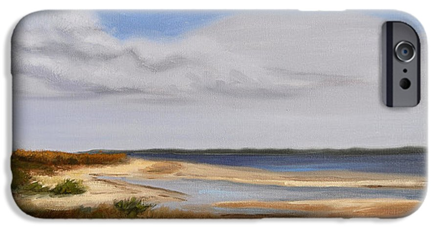 Landscape IPhone 6s Case featuring the painting Honeymoon Island by Greg Neal