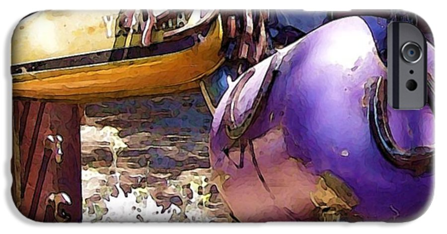 Sculpture IPhone 6s Case featuring the photograph Horse With No Name by Debbi Granruth