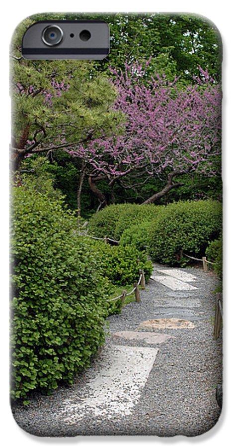 Japanese Garden IPhone 6s Case featuring the photograph Japanese Garden I by Kathy Schumann