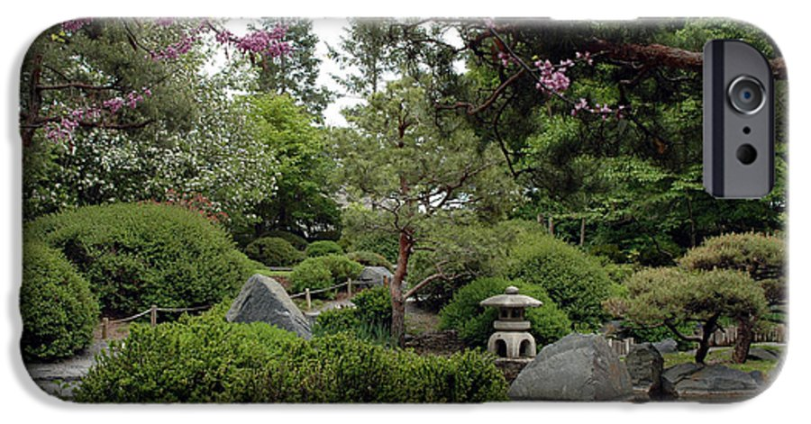 Japanese Garden IPhone 6s Case featuring the photograph Japanese Garden IIi by Kathy Schumann