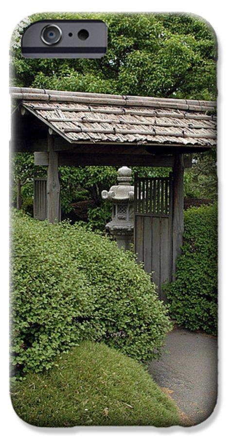 Japanese Garden IPhone 6s Case featuring the photograph Japanese Garden by Kathy Schumann