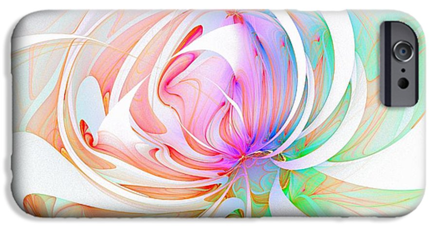 Digital Art IPhone 6s Case featuring the digital art Joy by Amanda Moore