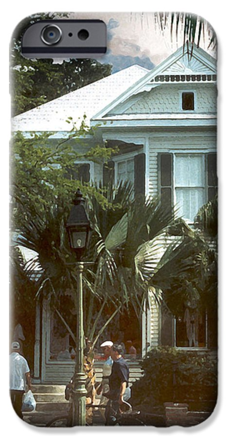 Historic IPhone 6s Case featuring the photograph Keywest by Steve Karol