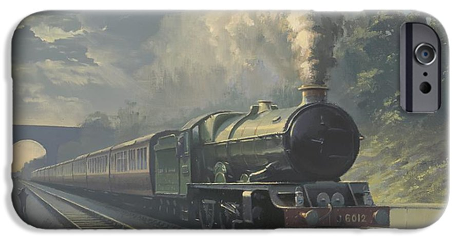 Steam IPhone 6s Case featuring the painting King Edward Vi by Richard Picton