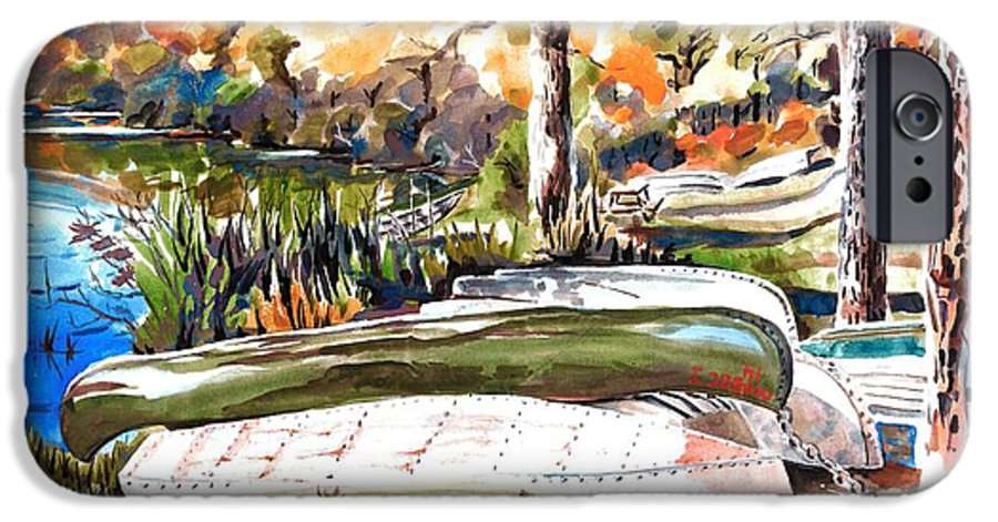 Last Summer In Brigadoon IPhone 6s Case featuring the painting Last Summer In Brigadoon by Kip DeVore