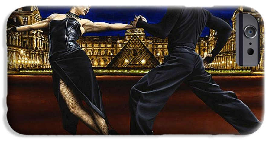 Tango IPhone 6s Case featuring the painting Last Tango In Paris by Richard Young