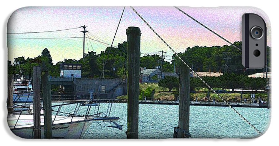 Lewes IPhone 6s Case featuring the photograph Lewes Canal Late Morning by Jeffrey Todd Moore
