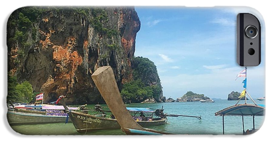 Thailand IPhone 6s Case featuring the photograph Lounging Longboats by Ell Wills