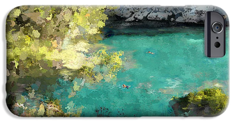 Sea IPhone 6s Case featuring the photograph Macarella by Dee Flouton