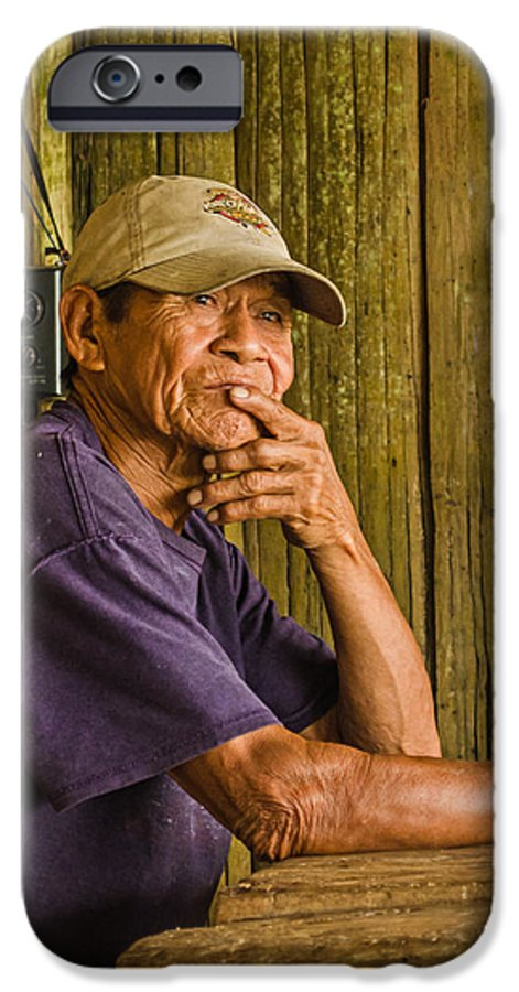 Peru IPhone 6s Case featuring the photograph Man Of The House by Allen Sheffield