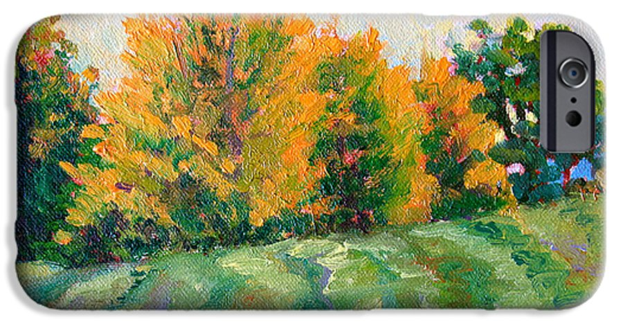 Impressionism IPhone 6s Case featuring the painting Maple Grove by Keith Burgess