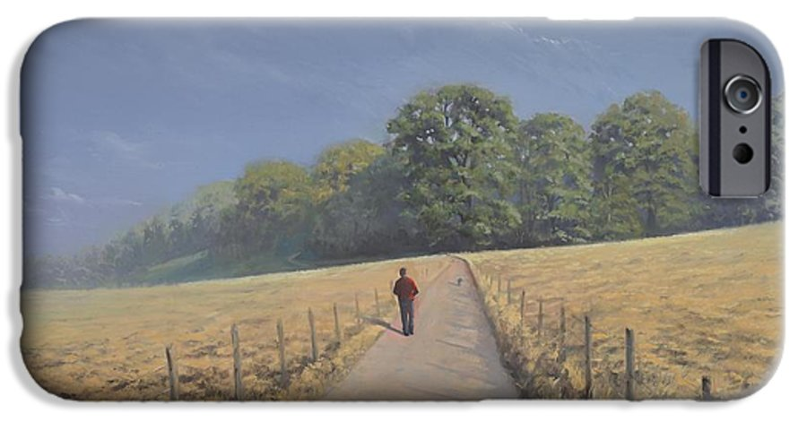 Landscape IPhone 6s Case featuring the painting Mapledurham by Richard Picton