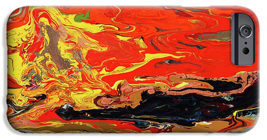 Fusionart IPhone 6s Case featuring the painting Melt by Ralph White
