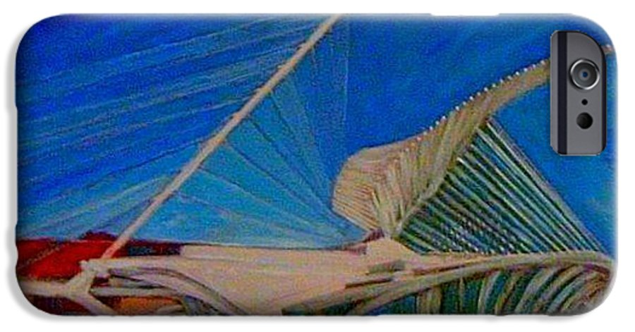 Mam IPhone 6s Case featuring the mixed media Milwaukee Art Museum by Anita Burgermeister