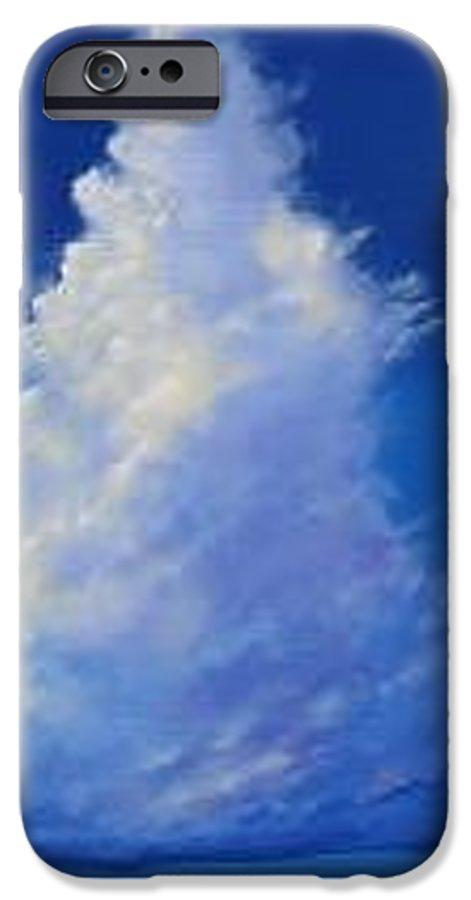 Clouds IPhone 6s Case featuring the painting Minor Earth Major Sky by Hunter Jay